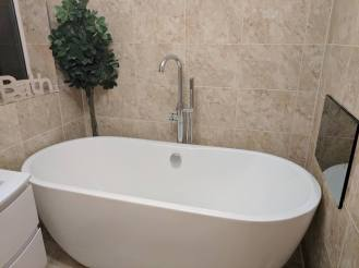 Marvel Plumbing Services Bathroom with TV 3