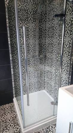 New shower, screen, vanity toilet, basin and free standing bath 1