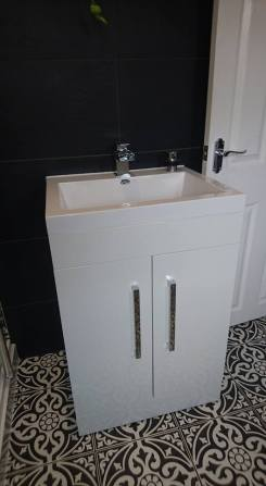 New shower, screen, vanity toilet, basin and free standing bath 2